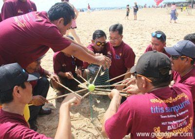 Beach games bali