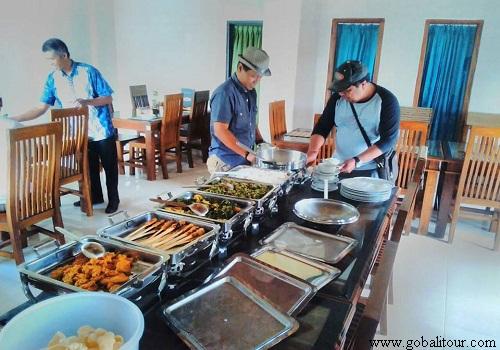 Catering di Bedugul