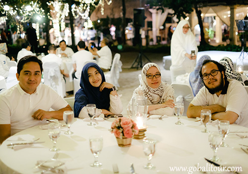 5 Venue Galla Dinner di Bali